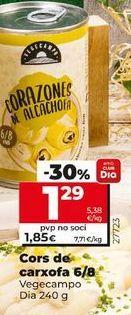 Oferta de Corazones de alcachofa por 1,29€
