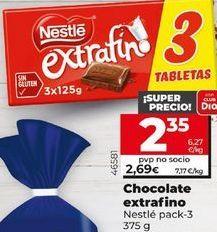 Oferta de Chocolate Nestlé por 2,35€