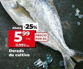 Oferta de Dorada por 5,99€