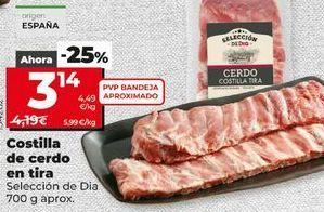 Oferta de Costillas de cerdo por 3,14€