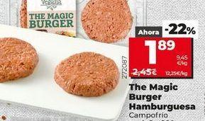 Oferta de Hamburguesas Campofrío por 1,89€