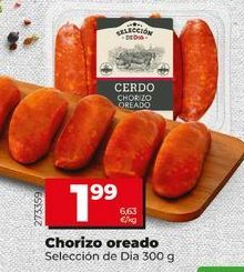 Oferta de Chorizo por 1,99€
