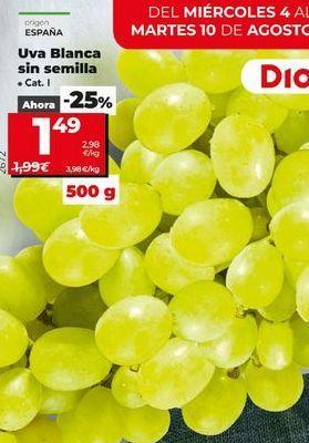 Oferta de Uvas por 1,49€
