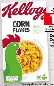 Oferta de Cereales Kellogg's por 2,5€