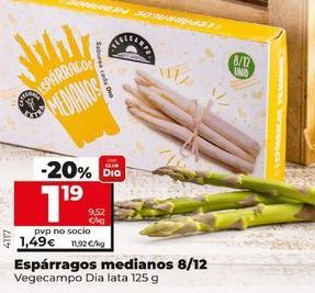 Oferta de Espárragos por 1,49€