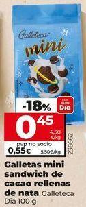 Oferta de Galletas por 0,55€