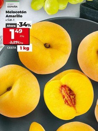 Oferta de Melocotones por 1,49€