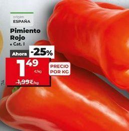 Oferta de Pimientos por 1,49€