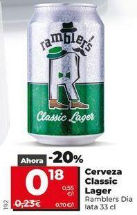 Oferta de Cerveza por 0,23€