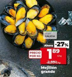 Oferta de Mejillones por 1,89€
