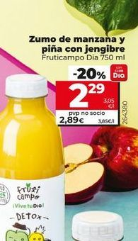 Oferta de Zumo de manzana por 2,85€