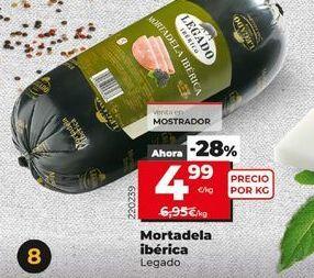 Oferta de Mortadela legado por 4,99€