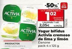 Oferta de Yogur bífidus Activia por