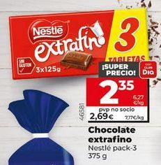 Oferta de Chocolate Nestlé por 2,69€