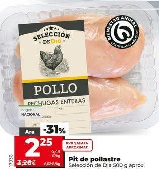 Oferta de Pechuga de pollo por 2,25€