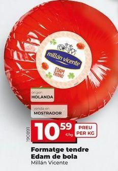 Oferta de Queso tierno por 10,59€