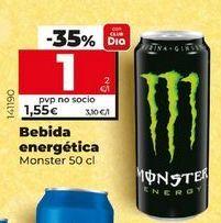 Oferta de Bebida energética Monster por 1,49€