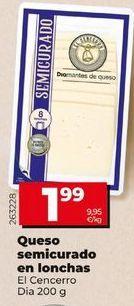 Oferta de Queso semicurado por 1,95€
