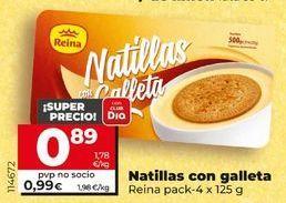 Oferta de Natillas con galleta reina por 0,99€