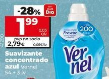 Oferta de Suavizante Vernel por 2,59€