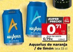 Oferta de Bebida isotónica Aquarius por 0,79€