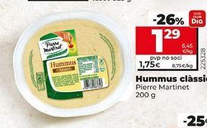 Oferta de Hummus por 1,69€