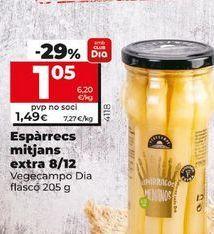 Oferta de Espárragos por 1,4€