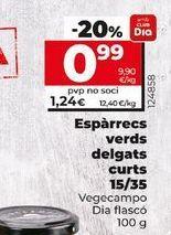 Oferta de Espárragos por 1,16€