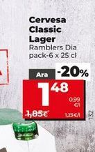 Oferta de Cerveza por 1,43€