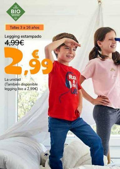 Oferta de Legging estampado por 2,99€