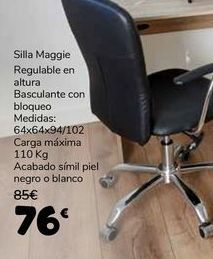 Oferta de Silla Maggie por 76€