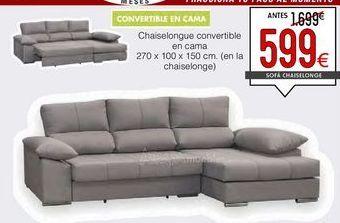 Oferta de Sofá cama por 599€