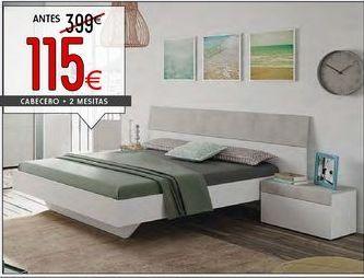 Oferta de Cabecero + 2 mesitas de noche por 115€