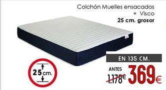 Oferta de Colchón + canapé por 369€