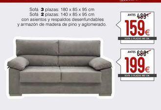 Oferta de Sofás y sillones por 159€