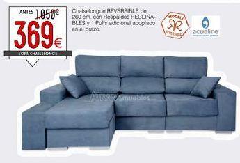 Oferta de Sofás y sillones por 369€