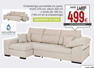 Oferta de Sofá cama por 499€