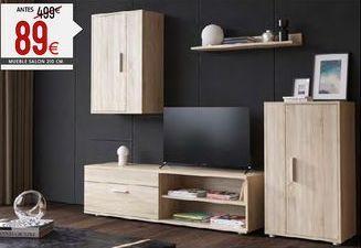 Oferta de Muebles de salón por 89€