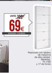 Oferta de Zapatero por 69€