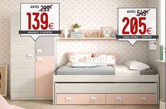 Oferta de Cama doble  juvenil por 205€