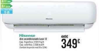 Oferta de Hisense Aire acondicionado Luso 12  por 349€