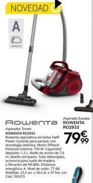 Oferta de Aspirador Rowenta por 79,99€