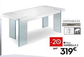 Oferta de Mesa por 319€