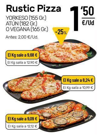 Oferta de Pizza por 1,5€