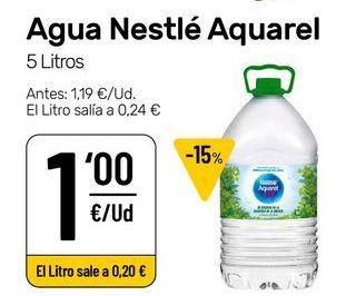 Oferta de Agua Nestlé por 1€