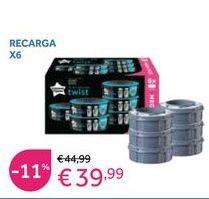 Oferta de Contenedor de pañales por 39,99€