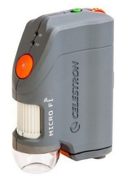 Oferta de Microscopio - Celestron Digital Microscopio Digital Microfi Wifi, 1x-80x por 194,35€