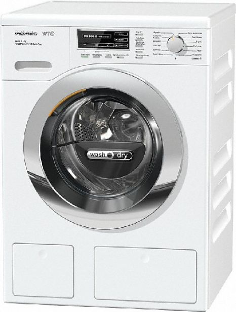 Oferta de Lavadora secadora - Miele WTH120 WPM PWash 2.0 & TDos, 7 kg, 4Kg, 1600 rpm, Autodosificación, WiFi por 2155,55€