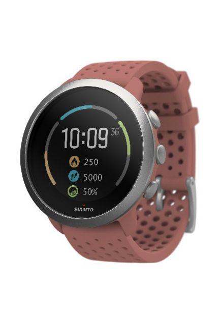 Oferta de Reloj deportivo - Suunto 3 Fitness, Rojo, GPS, Seguimiento actividad y sueño, Estrés y recuperación por 152,15€