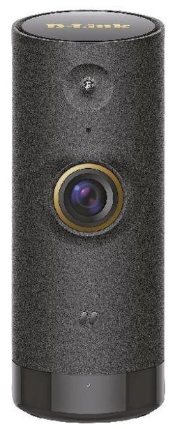 Oferta de Cámara de vigilancia - D-Link DCS-P6000LH Mini, HD, Wi-Fi, 720P, 120º, Negro, domótica por 47,99€